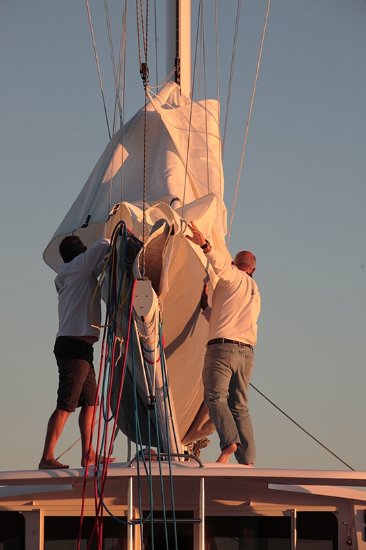 Boat handover